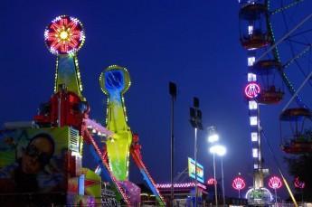 Władysławowo Atrakcja Park rozrywki Lunapark Sowiński
